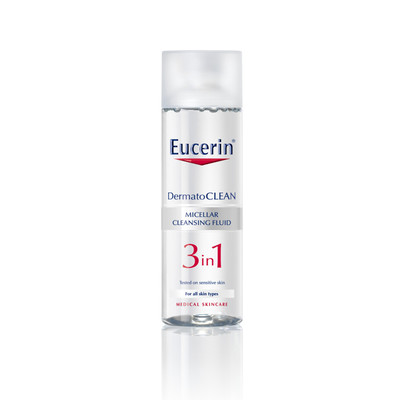 Eucerin DermatoCLEAN Solução de Limpeza Micelar 3 em 1 200 ml
