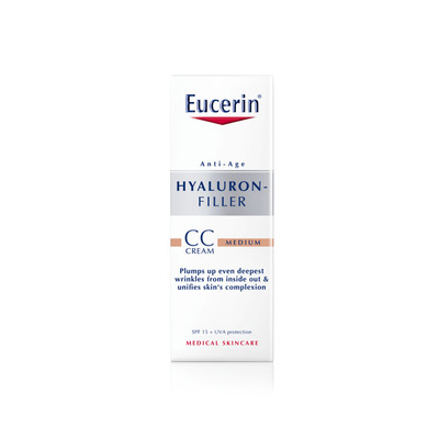 Eucerin Hyaluron-Filler CC Cream Tom Médio 50 ml