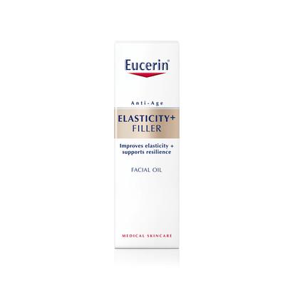 Eucerin Elasticity+Filler Óleo de Rosto 30 ml