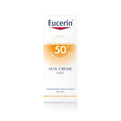 Eucerin Creme Solar Rosto SPF50+ 50 ml