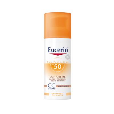 Eucerin Creme Solar Rosto CC Cream SPF50+ 50 ml
