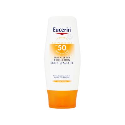 Eucerin Creme-Gel Solar Proteção Alergias SPF50 150 ml