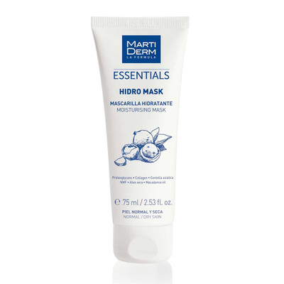 Martiderm Essentials Hidro Mask Máscara Limpeza 75 ml