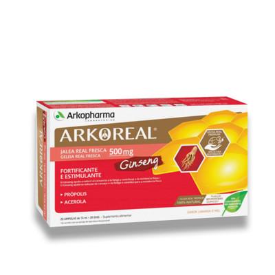 Arkopharma Arkoreal Geleia Real + Ginseng 20 Ampolas