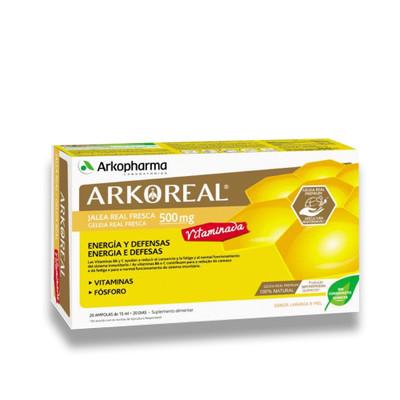 Arkopharma Arkoreal Geleia Real Vitaminada 20 Ampolas