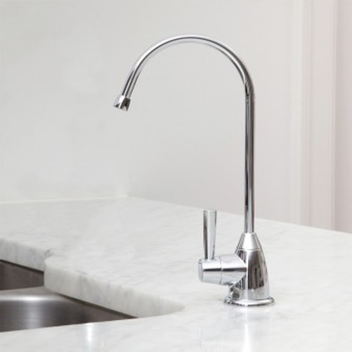 Austin Springs Undercounter Water Filter with Chrome Faucet