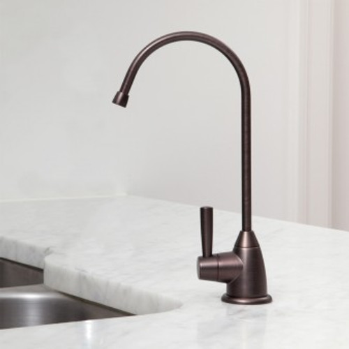 Austin Springs Undercounter Water Filter with Oil Rubbed Bronze Faucet