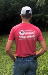 Brasstown Beef Flag T-Shirt
