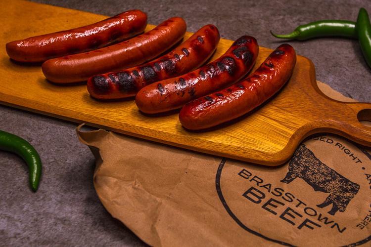 Brasstown Beef Gourmet Hot Dogs