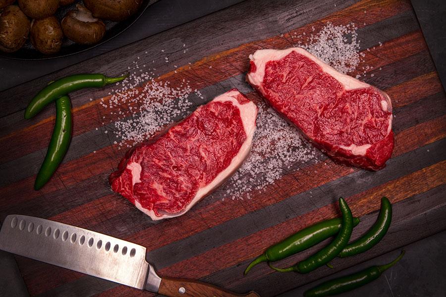 Brasstown Beef Tender-Aged NY Strip
