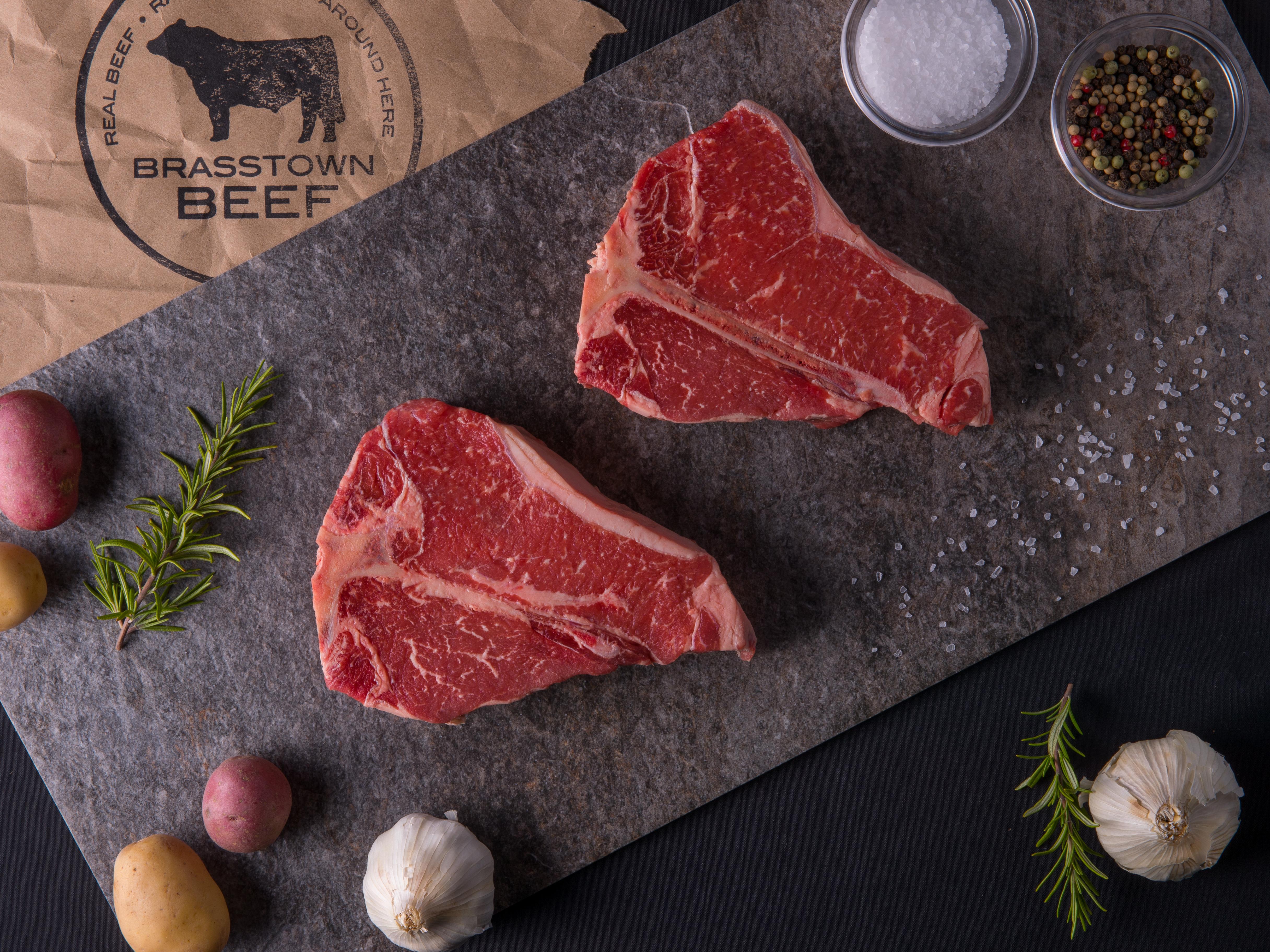 Brasstown Beef T-Bone Steak