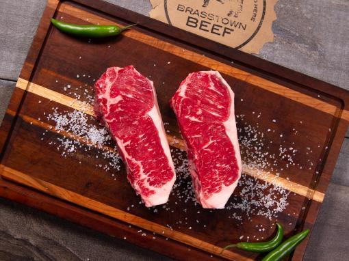 Brasstown Beef - Tender-Aged NY Strip