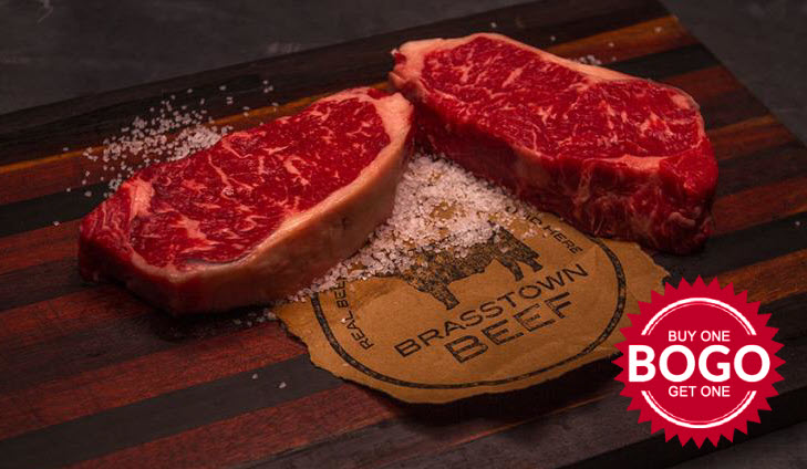 Brasstown Beef - BOGO NY Strips