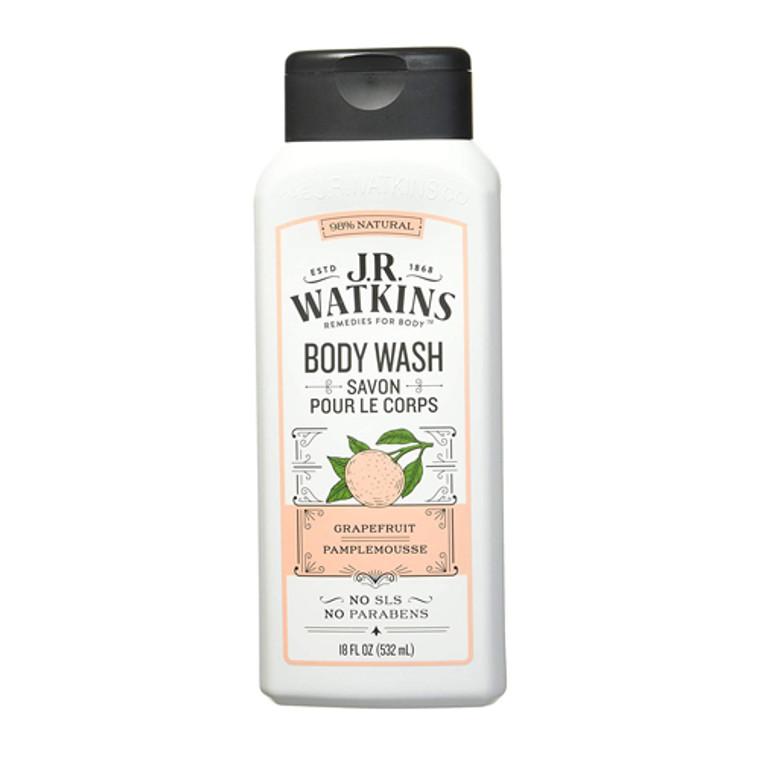 JR Watkins Daily Moisturizing Grapefruit Body Wash, 18 Oz