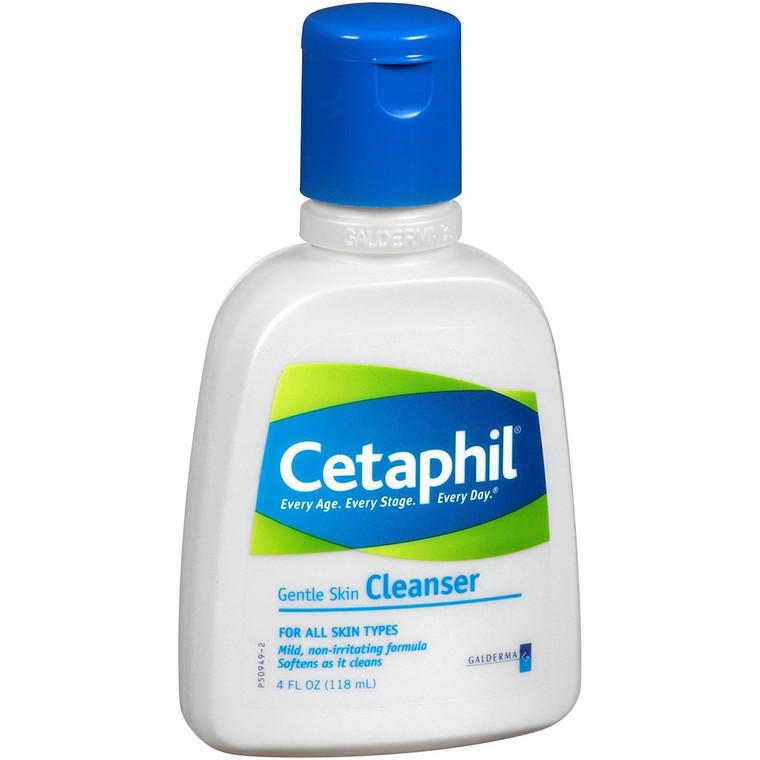 Cetaphil Gentle Skin Cleanser For All Skin Types - 4 Oz