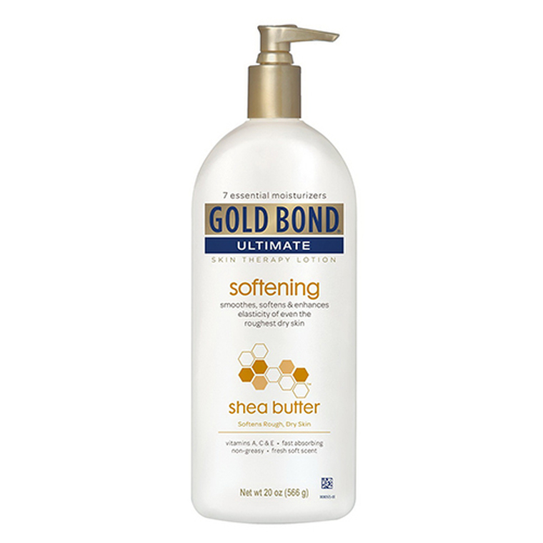 Gold Bond Ultimate Softening Skin Therapy Lotion With Shea Butter - 20 oz