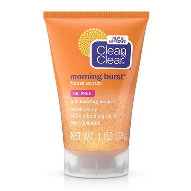 Clean And Clear Morning Burst Facial Scrub, 1 oz