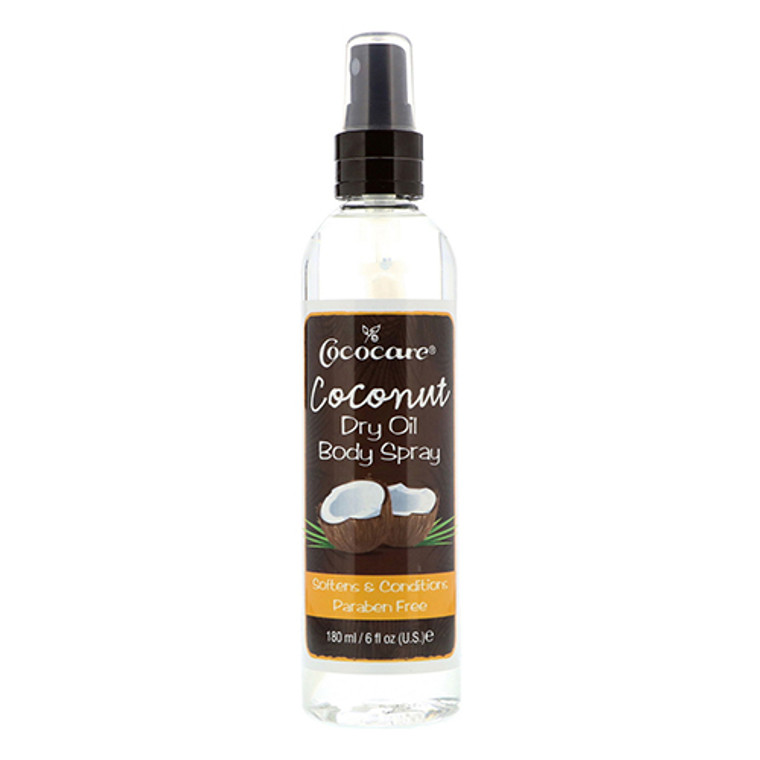 Cococare Coconut Dry Oil Body Spray,6 Oz