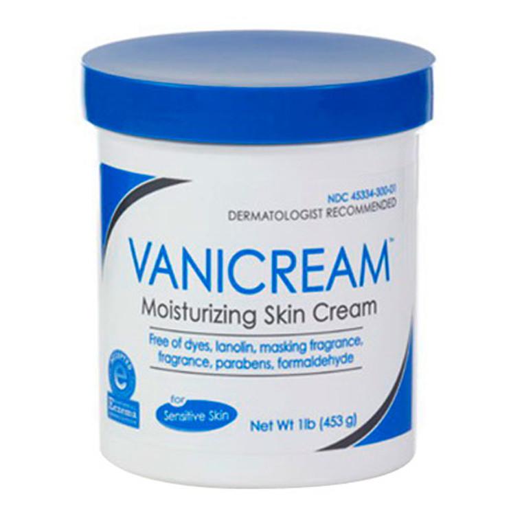 Vanicream Moisturizing Skin Cream Jar With Regular Cap - (1 Lb) 16 Oz