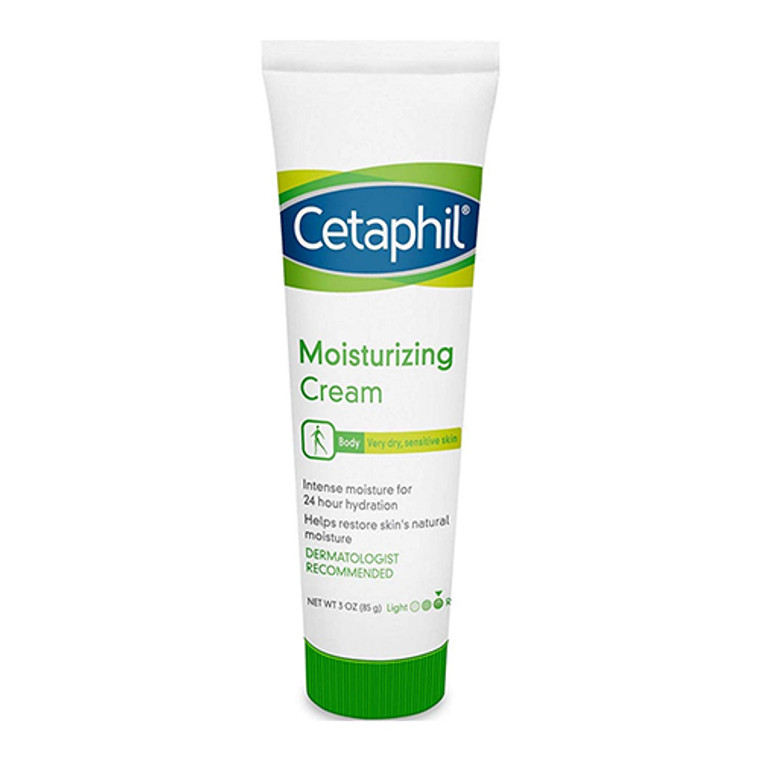 Cetaphil Moisturizing Cream, Fragrance Free - 3 Oz