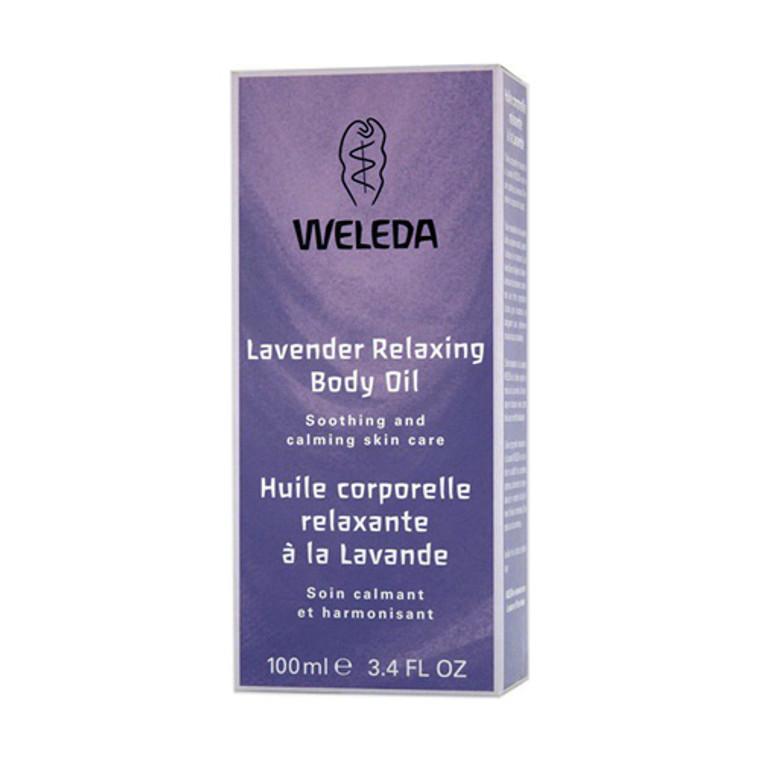Weleda Relaxing Body Oil, Lavender - 3.4 Oz