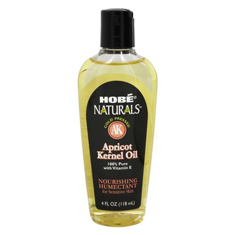 Hobe Naturals Beauty Oils, 100% Pure Apricot Kernel Oil with Vitamin E, 4 Oz