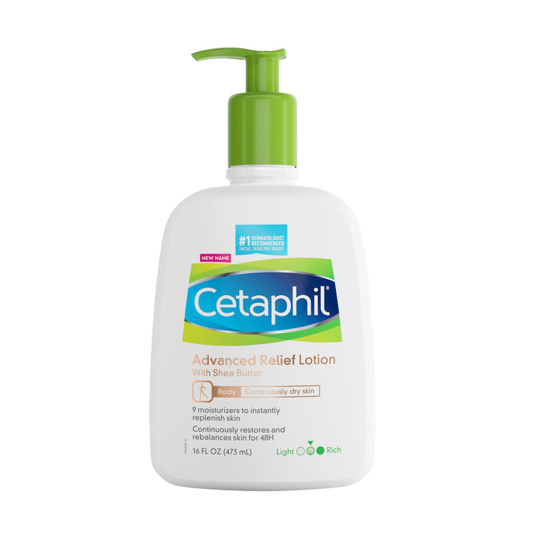 Cetaphil Advanced Relief Lotion with Shea Butter, 16 fl. Oz
