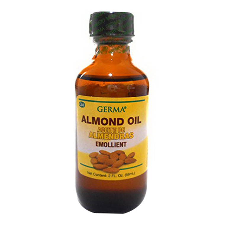 Germa Almond Oil Aceite De Almendras Emollient, 2 Oz