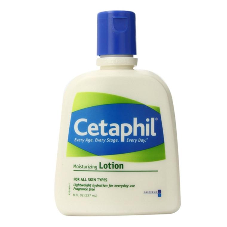 Cetaphil Moisturizing Lotion, Fragrance Free - 8 Oz