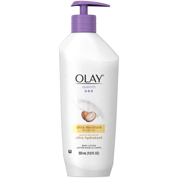 Olay Quench Ultra Moisture Body Lotion With Shea Butter - 11.8 Oz