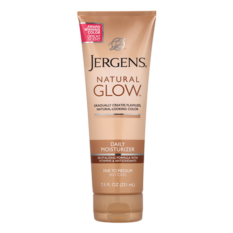 Jergens Natural Glow Daily Moisturizer, Medium Skin Tones, 7.5 Oz
