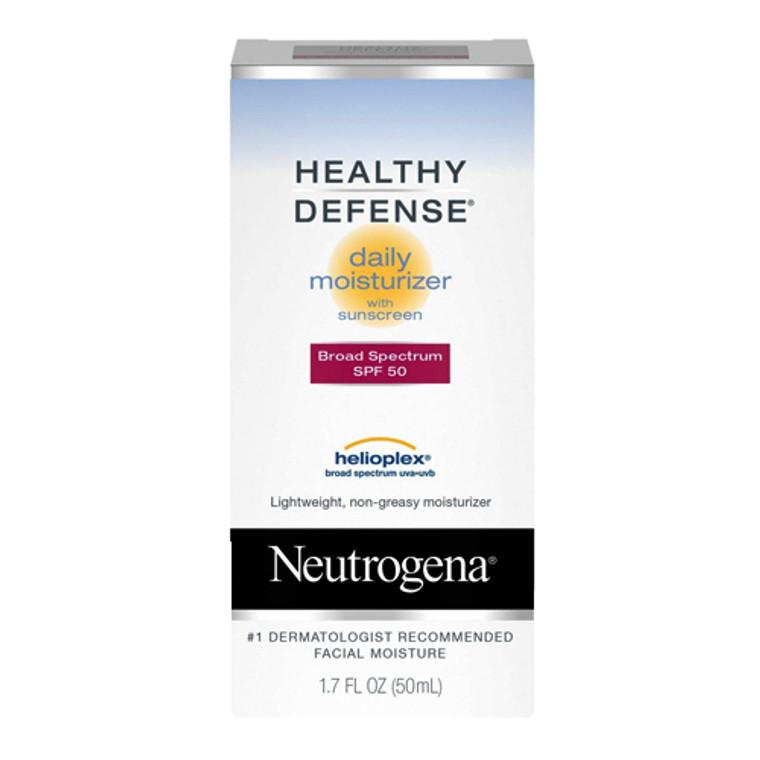 Neutrogena Healthy Defense Daily Moisturizer with SPF 50, Helioplex, 1.7 Oz