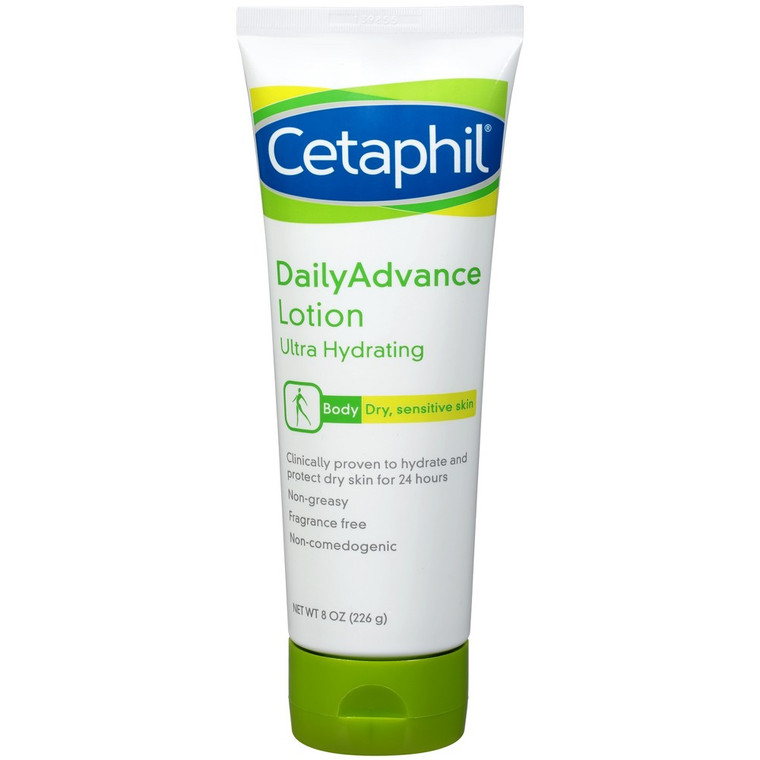 Cetaphil Daily Advance Ultra Hydrating Lotion - 8 Oz