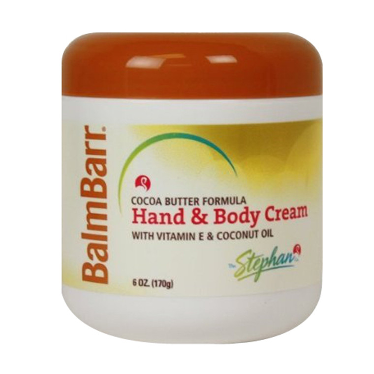 Balm Barr Cocoa Butter Hand And Body Creme Jar - 6 Oz