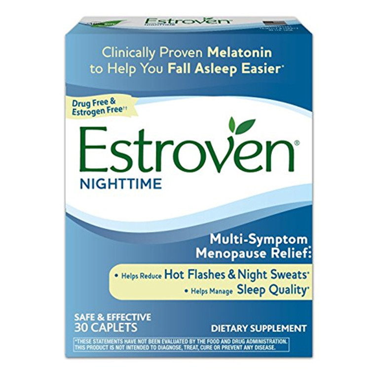 Estroven for Menopause Relief Sleep Cool and Calm Caplets, 30 Ea