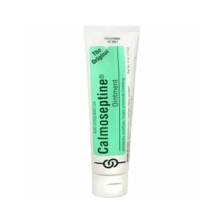 Calmoseptine Ointment Tube To Heal Skin Irritations - 4 Oz