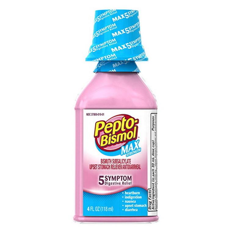 Pepto Bismol Maximum Strength Liquid - 4 Oz