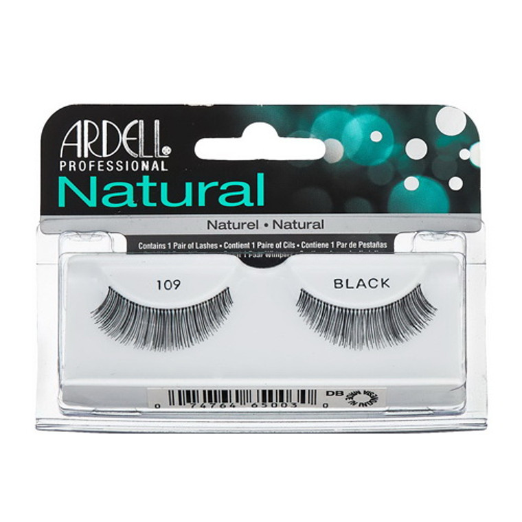 Ardell Natural Lashes #109 Black, 1 Pair