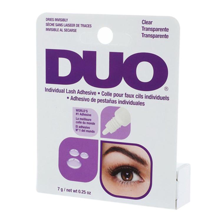 Duo Individual Eyelash Adhesive, Clear, 0.25 Oz