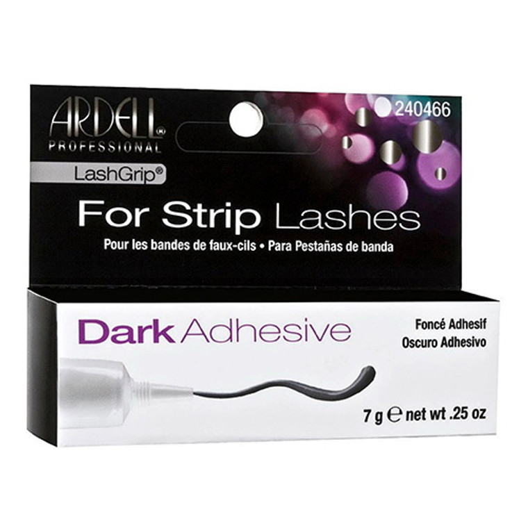 Ardell Lashgrip Dark Adhesive Tube for Strip Lashes, 0.25 Oz