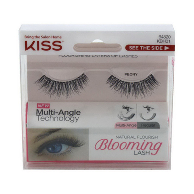 KISS Products Inc Natural Flourish Blooming Lashes, Peony, 1 Pair