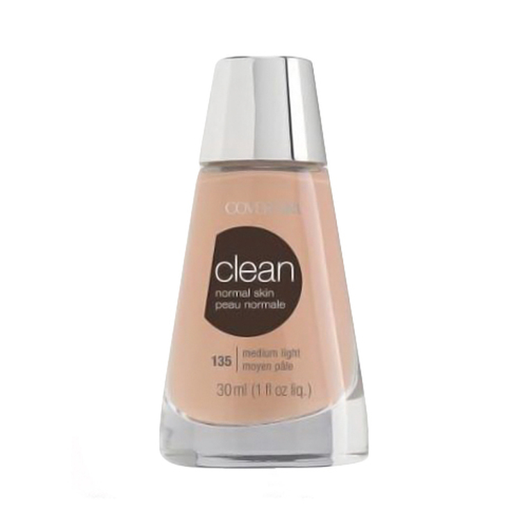 Covergirl Clean Liquid Makeup 135, Medium Light - 1 Oz, 2 Ea