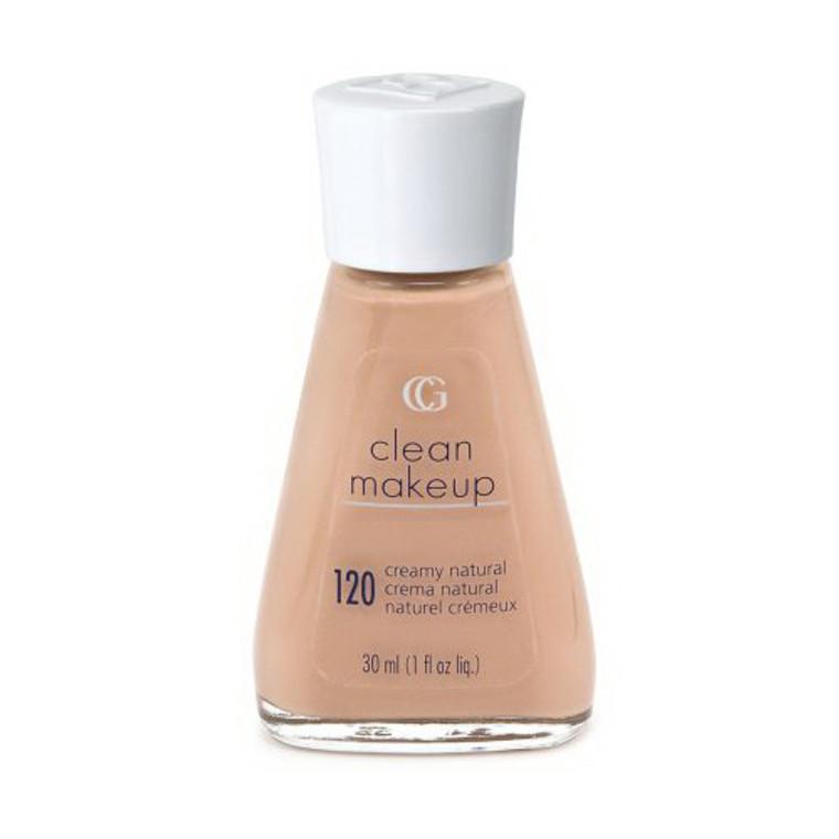 Covergirl Clean Liquid Make Up 120, Creamy Natural - 1 Oz, 2 Ea