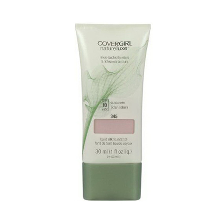 Covergirl Natureluxe Silk Liquid Makeup Foundation 345, Honeywood - 1 Oz, 2 Ea