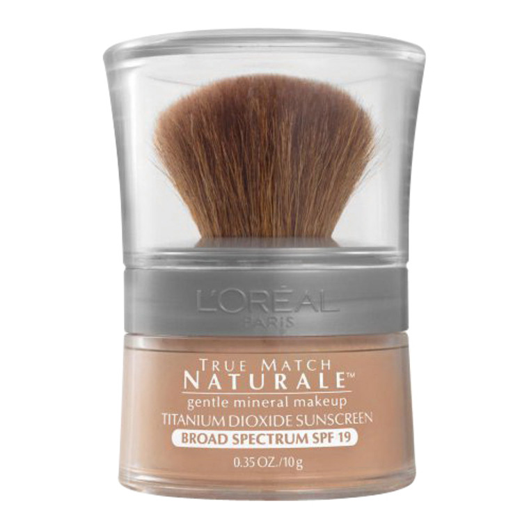 Loreal Bare Naturale Powdered Mineral Foundation Spf 19, Creamy Natural, 0.35 Oz