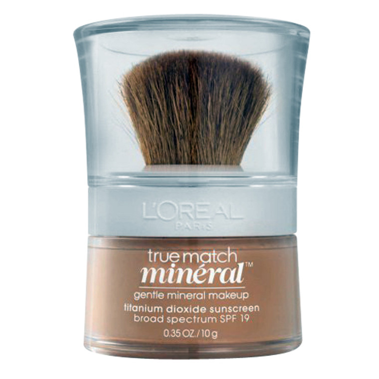 Loreal Bare Naturale Powdered Mineral Foundation Spf 19, Natural Beige 0.35 Oz   - 1 Ea