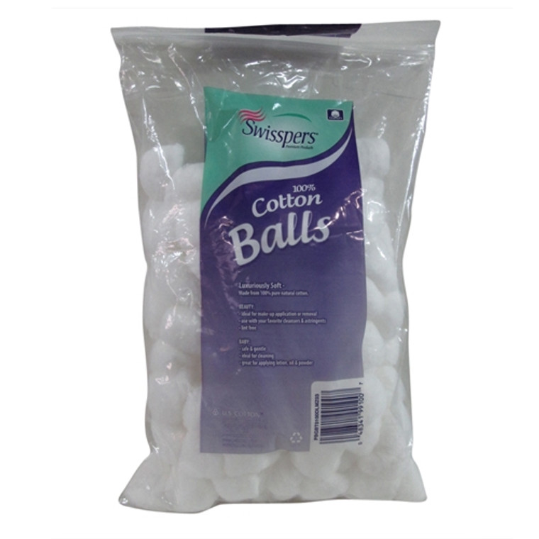 Swisspers Multi Care,100 Cotton Balls, 3 Pack