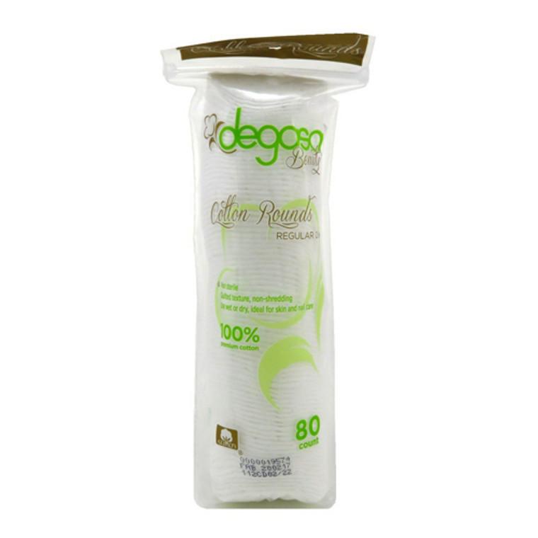 Degasa Beauty Cotton Rounds 2 Inch, 80 Ea