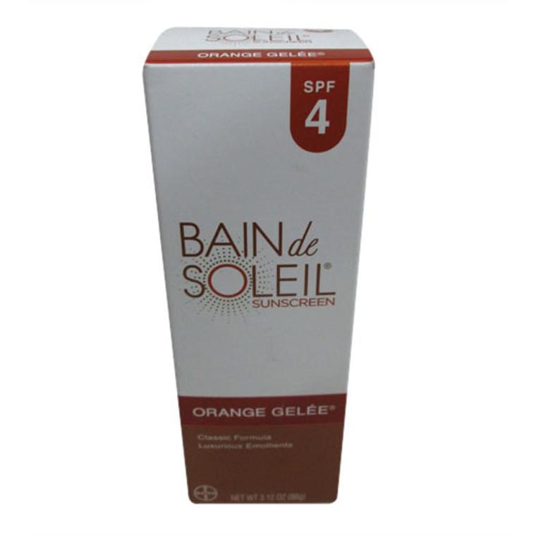 Bain De Soleil Orange Gelee Sunscreen, Spf 4 - 3.12 Oz