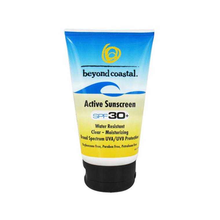 Beyond Coastal Active Sunscreen Spf 30+ - 4 Oz
